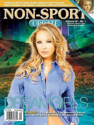 Non-Sport Update Feb/Mar '15 Bench Warmer Dreamgirls cover w/ 4 free promo cards