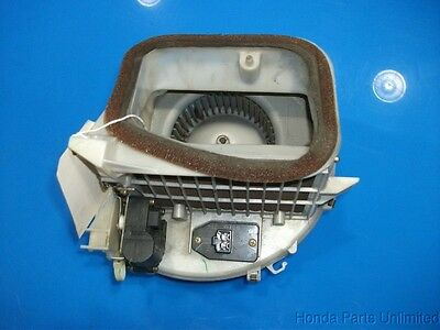 96-98 Honda Civic OEM A//C heating blower motor fan with resistor and case #1