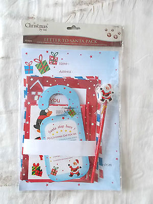 Kids Xmas Toy Novelty Letter To Santa Pack Inc 2 Letters See Pictures #4