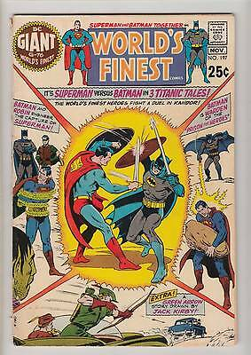 World's Finest no. 197 VG (cover almost detached)