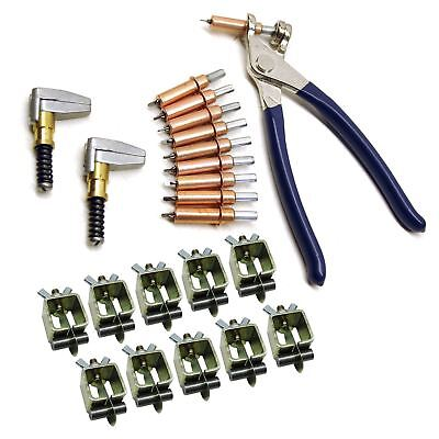 Intergrips Weld Clamps Sheet Metal Fasteners 10pk With Cleco Temporary Rivets