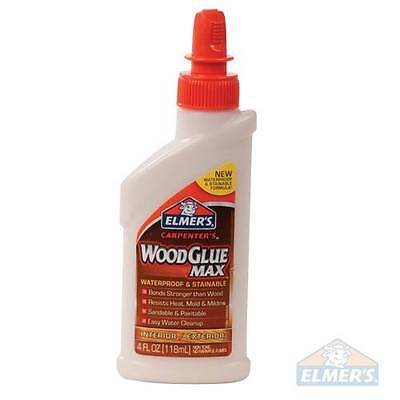 ELMERS Carpenter's Wood Glue MAX 118ml  Carpentry Diy Craft Joinery S