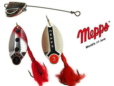 Mepps Lusox Hard Spinnerbait Lure + LEADHEAD Colors & Sizes Great for PIKE