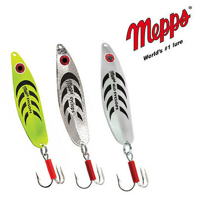 Mepps Syclops Fishing Spoon. Different colors and sizes!. BRAND NEW