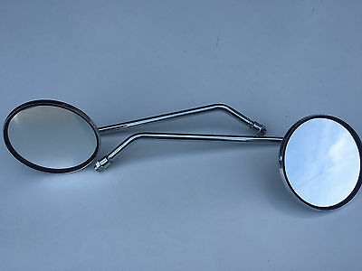 Suzuki GS1100 GS GS1000 GS750 Classic New Pair of Chrome Steel Mirrors E Marked