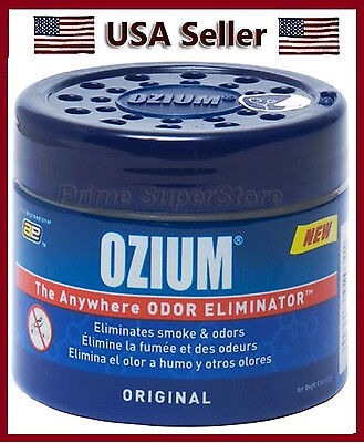 Ozium Original Scent Smoke Odors Eliminator Air Freshener Car Home 4 5 Oz Gel