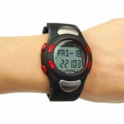 Fitness Pulse Heart Rate Monitor Sport Watch Exercise Running Calorie Counting