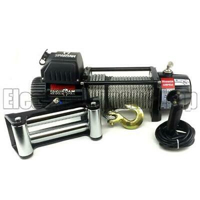 Warrior Spartan 12000 12v Electric Winch