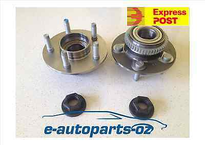 2 x Genuine Ford Falcon Hub Pac Nuts & ILJIN Front Wheel Bearing/Hubs AU/BA/BF