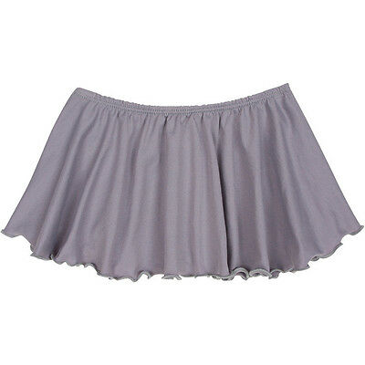 GRAY Toddler & Girls Flutter Ballet - Dance Skirt