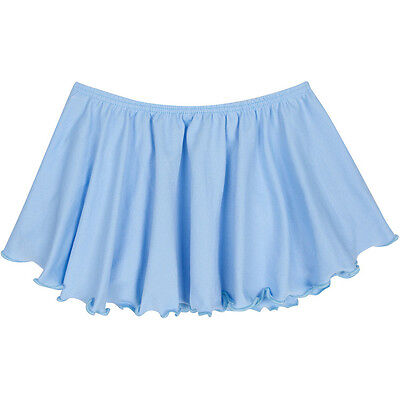 LIGHT BLUE Toddler & Girls Flutter Ballet - Dance Skirt