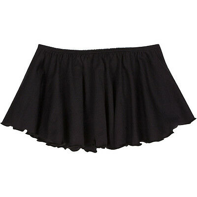 BLACK Toddler & Girls Flutter Ballet - Dance Skirt