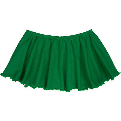 GREEN Child / Girls Flutter Ballet - Dance Skirt