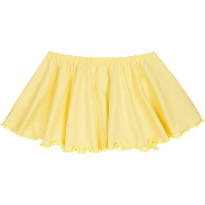 YELLOW Toddler & Girls Flutter Ballet Dance Skirt