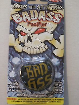 New Billy Bob Bad Ass Baby Pacifier Free Shipping