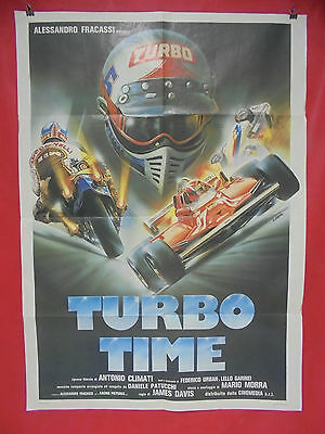 S1 1134 manifesto 2 fogli: TURBO TIME