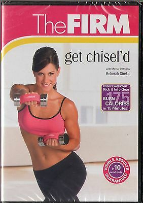 The FIRM - Get Chisel'd (DVD, 2008)  BRAND NEW