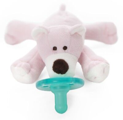 WubbaNub Infant Newborn Baby Soothie Pacifier ~ Pink Bear