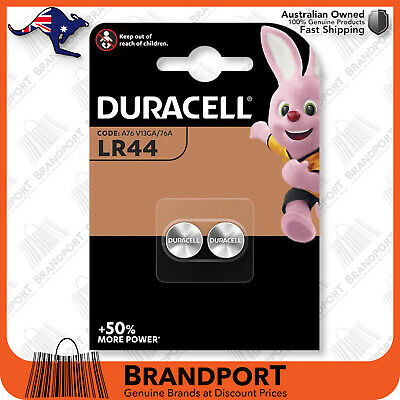 Duracell LR44 A76 Button Cell 1.5V alkaline battery Oz Seller, Stock