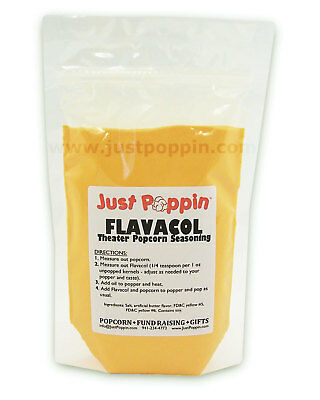Flavacol Popcorn Salt - Movie Theater Popcorn Seasoning Butter Flavor 16oz