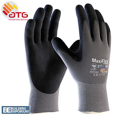 5X ATG MaxiFlex Ultimate Breathable Nitrile Work Glove Size 10XL 42-874