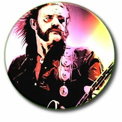 "Lemmy/ Motorhead/ Heavy Metal/ 1970's/ 1980's/ 25 Mm/ 1 "" Button Badge"