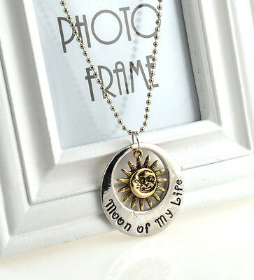 Cool Game of Thrones Moon of My Life My Sun and Stars Khal & Khaleesi Necklace