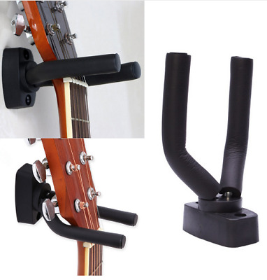 Wall Mount Guitar Hanger Stand Holder Rack Display Acoustic Electric Hooks