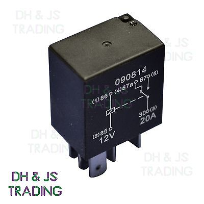 Micro Relay 5 PIN 12v 20a Changover Mini 20 amp CAR VAN BOAT MARINE MRY9