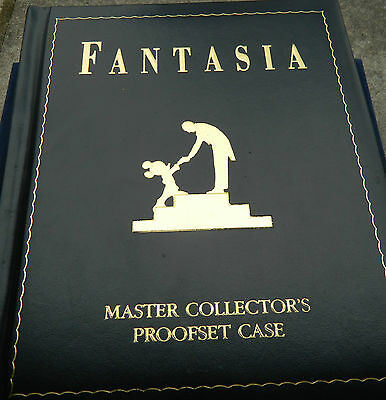 DISNEY'S FANTASIA 5OTH ANNIVERSARY MASTER COLLECTOR PROOF COIN SET WITH ALBUM