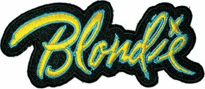 Blondie Logo - Embroidered Patch - Brand New - Music Band 1177