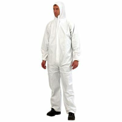 Splash Proof Coverall Hood Spray Suits Asbestos painters Chemical Suit Type 5/6
