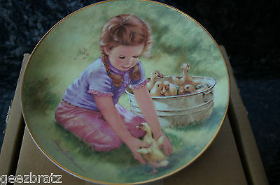 "Vintage ""LAST ONE IN"" Plate - 6th Issue in The Magic of Childhood Collection"