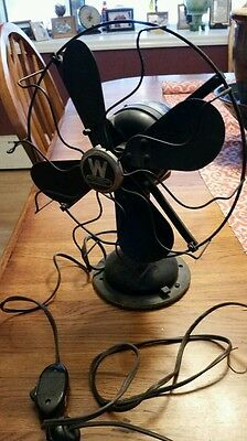 VINTAGE WESTINGHOUSE ELECTRIC FAN