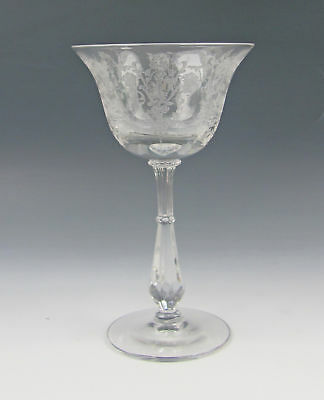 Tiffin Crystal CHEROKEE ROSE Cocktail/Liquor Glass(es) Multi Avail  Excellent