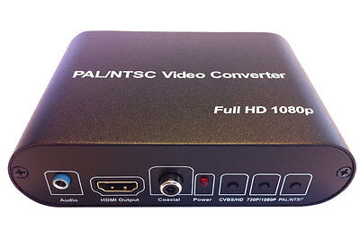 CMD-HDX75 Multi-System TV Video Converter PAL NTSC HD Signal