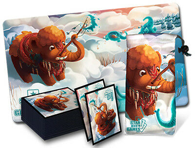 MTG Magic Star City Games Play Mat Creature Collection - Mammoth BUNDLE