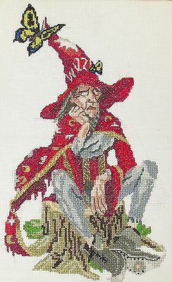 Discworld Folklore counted cross stitch kit//chart 28ct or 32ct 18ct 14ct