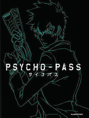 Psycho-Pass: The Complete First Season (Blu-ray Disc, 2014, 4-Disc Set)