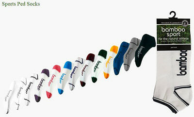 Kids - Bamboo PED (ankle) Socks for school sports naturally anti-bacterial
