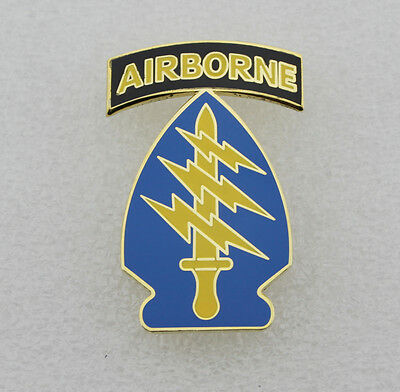 US Army Special Forces Command Airborne Combat Service Identification Badge CSIB