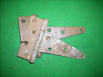 "Pair Of 5"" Barn / Shed Door Hinges - Vintage Rustic Steel  (2573-2)"