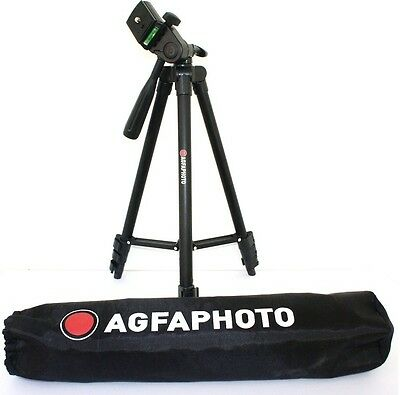 Bubble Level 50 AGFAPHOTO Tripod with Case for Samsung ST66 WB250 WB30F WB800F