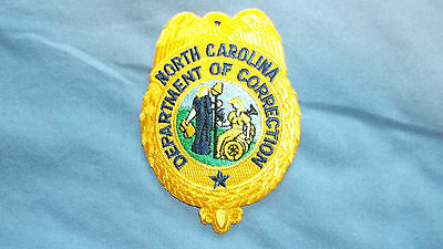 Obsolete North  Carolina Dept of Corrections Patch