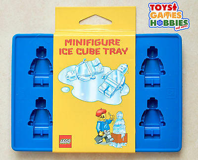 *NEW* LEGO Minifigure Minifig Silicone Ice Cube Tray Candy Crayon Mold Birthday
