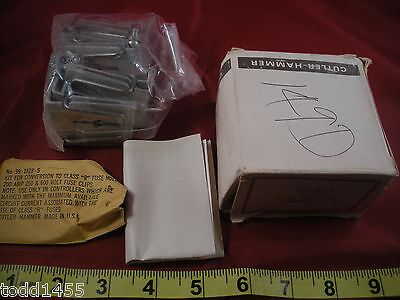 Cutler Hammer C350KE24-64 Fuse Clip Kit Size 3 Lot of (6) for Type H K or R Nos