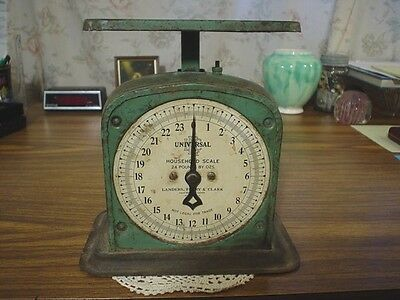 Vintage Landers Frary & Clark Universal 24 lb by Oz Household Scale CONN USA