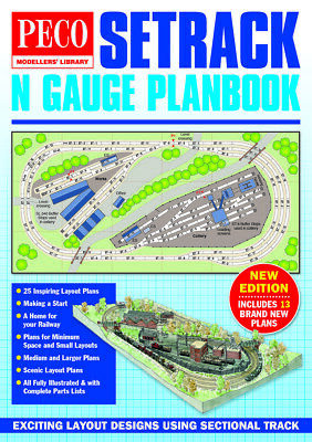 Peco IN-1 - N Gauge Setrack Track Plans Catalogue Latest Edition -1st Class Post