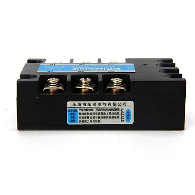 DC-AC DC 3-32V to AC 480V 20A Three 3Phase SSR Solid State Relay w/ Clear Cover