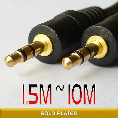 3.5mm AUX Cable Stereo Audio Extension Male to Male Auxiliary 1.5M 3M 5M 10M